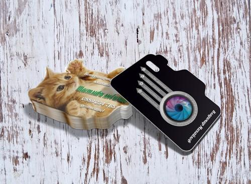 нестандартни визитки