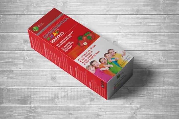 Картонени кутии за детски сиропи